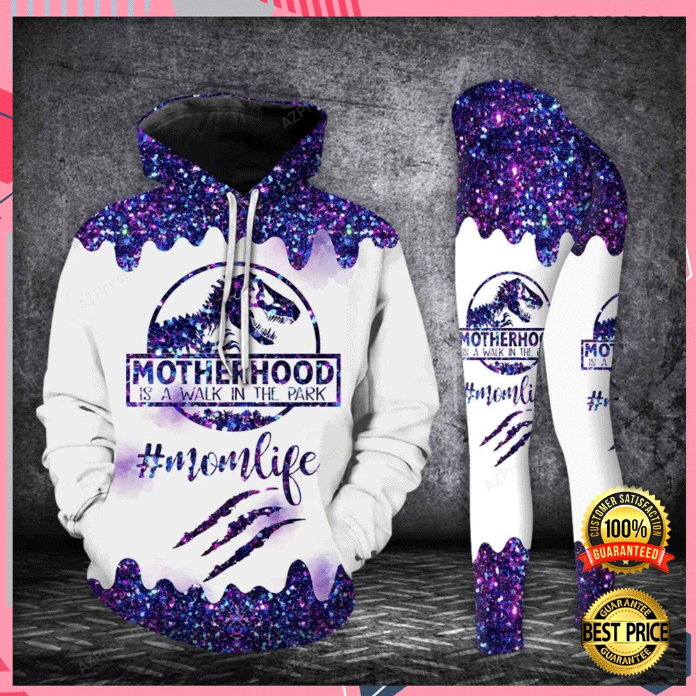 MOTHER HOOD IS A WALK IN THE PARK ALL OVER PRINTED 3D HOODIE AND LEGGING 7