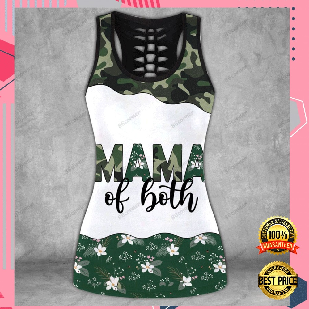 MAMA OF BOTH CAMO ALL OVER PRINTED 3D HOODIE, LEGGING AND TANK TOP 6