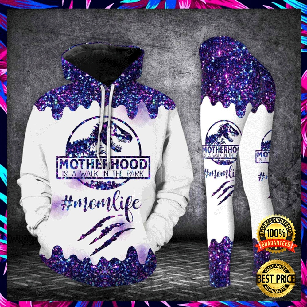 MOTHER HOOD IS A WALK IN THE PARK ALL OVER PRINTED 3D HOODIE AND LEGGING 4