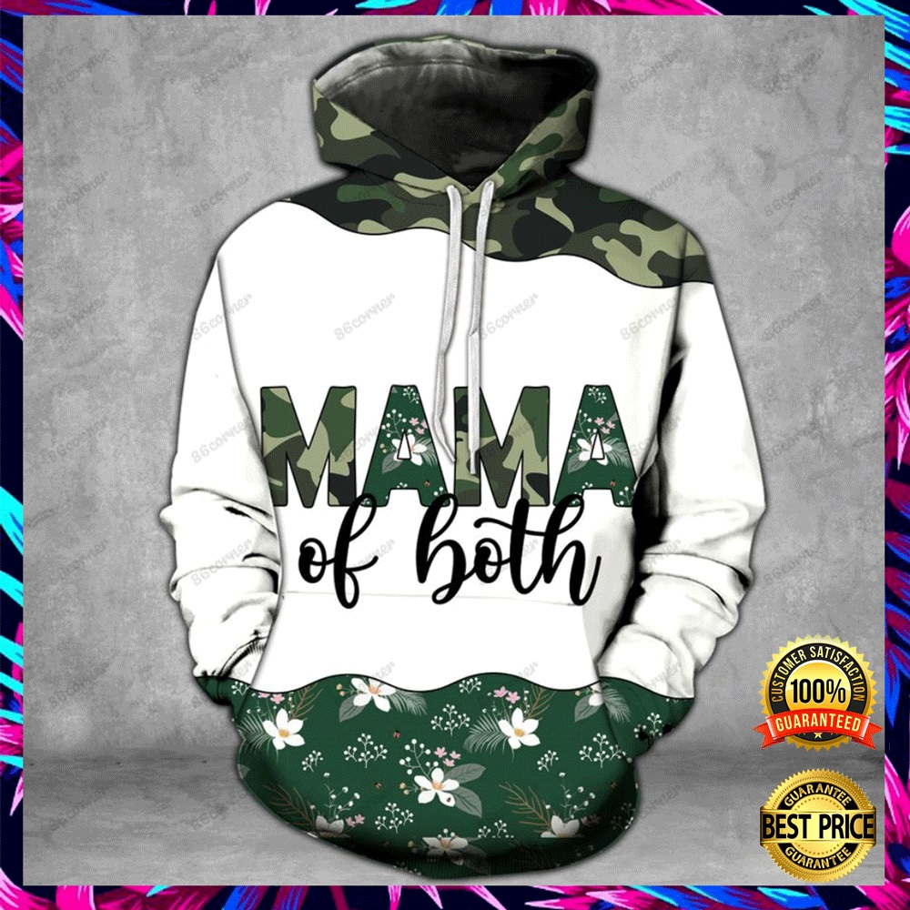 MAMA OF BOTH CAMO ALL OVER PRINTED 3D HOODIE, LEGGING AND TANK TOP 4