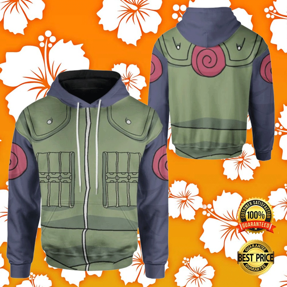 KAKASHI COSPLAY ALL OVER PRINTED 3D HOODIE 7
