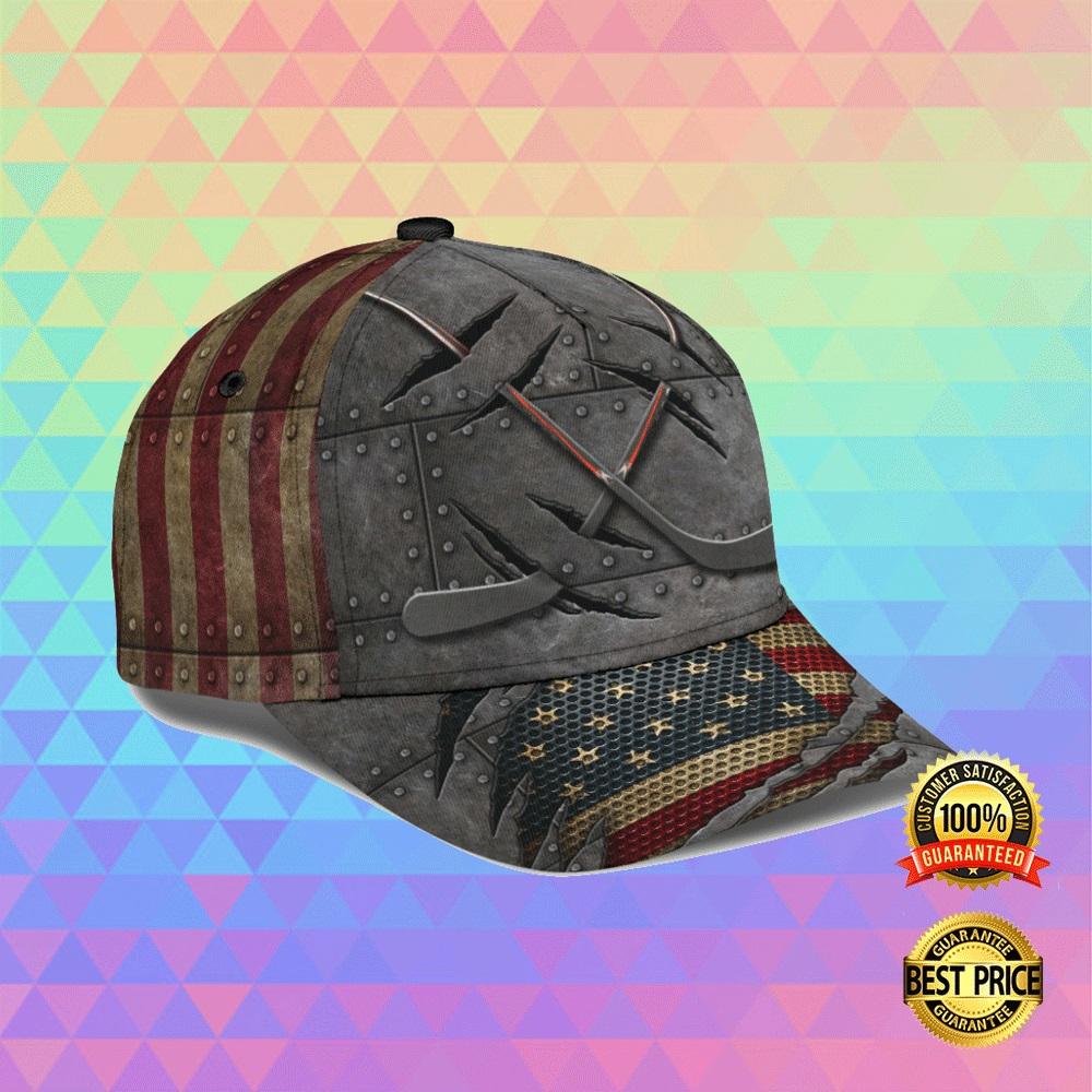 HOCKEY AMERICAN FLAG CAP 5