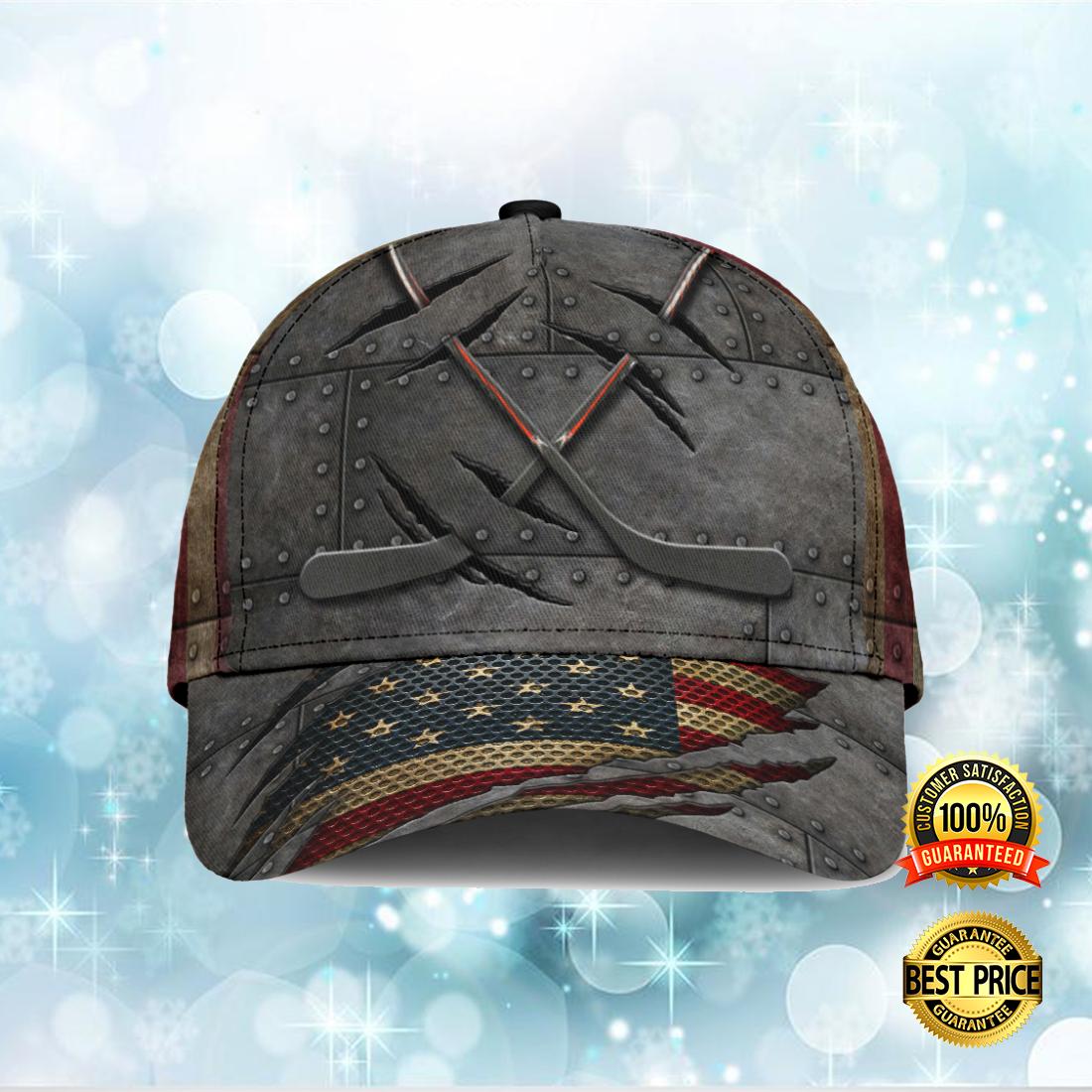 HOCKEY AMERICAN FLAG CAP 7