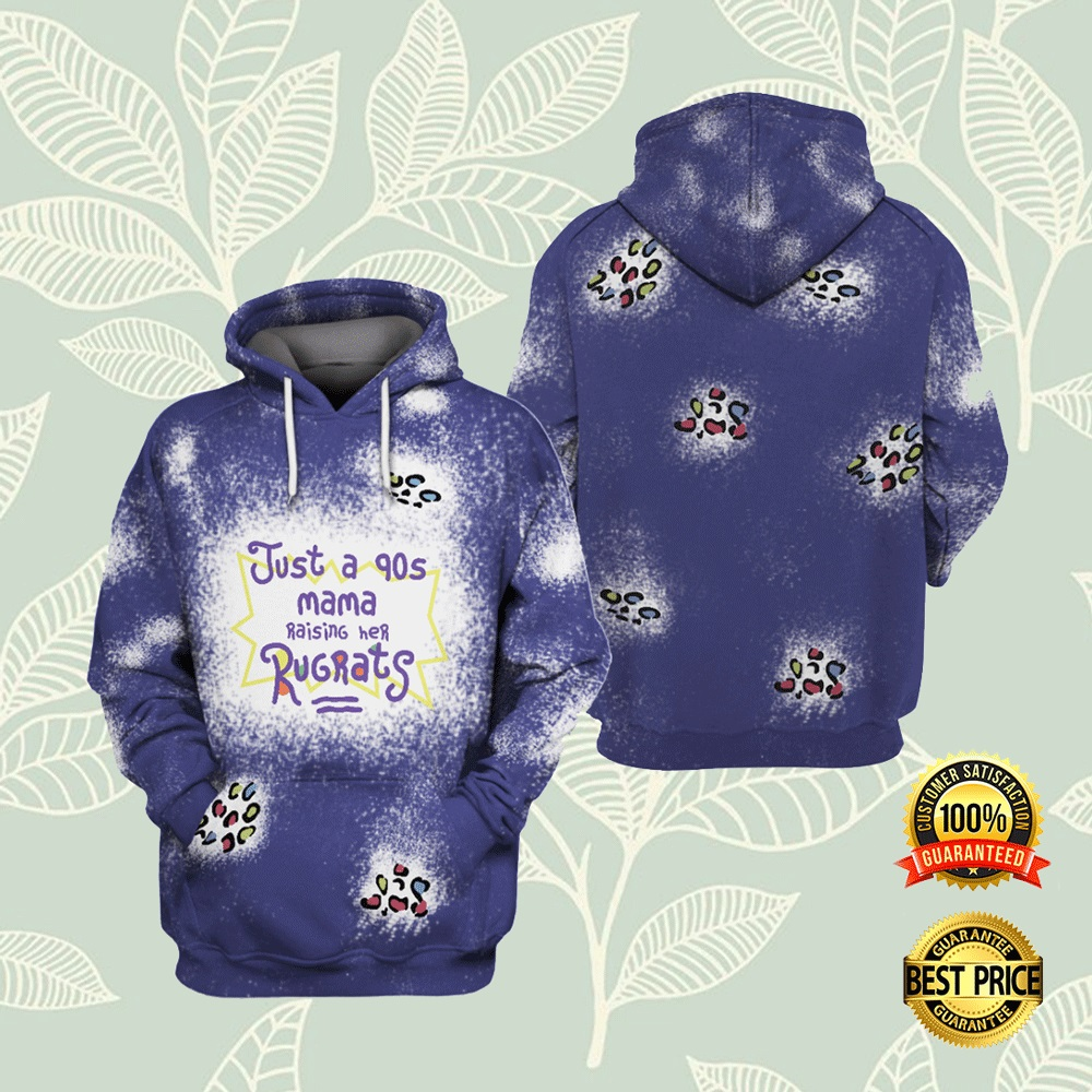 JUST A 90S MAMA RAISING HER RUGRATS ALL OVER PRINTED 3D HOODIE 7