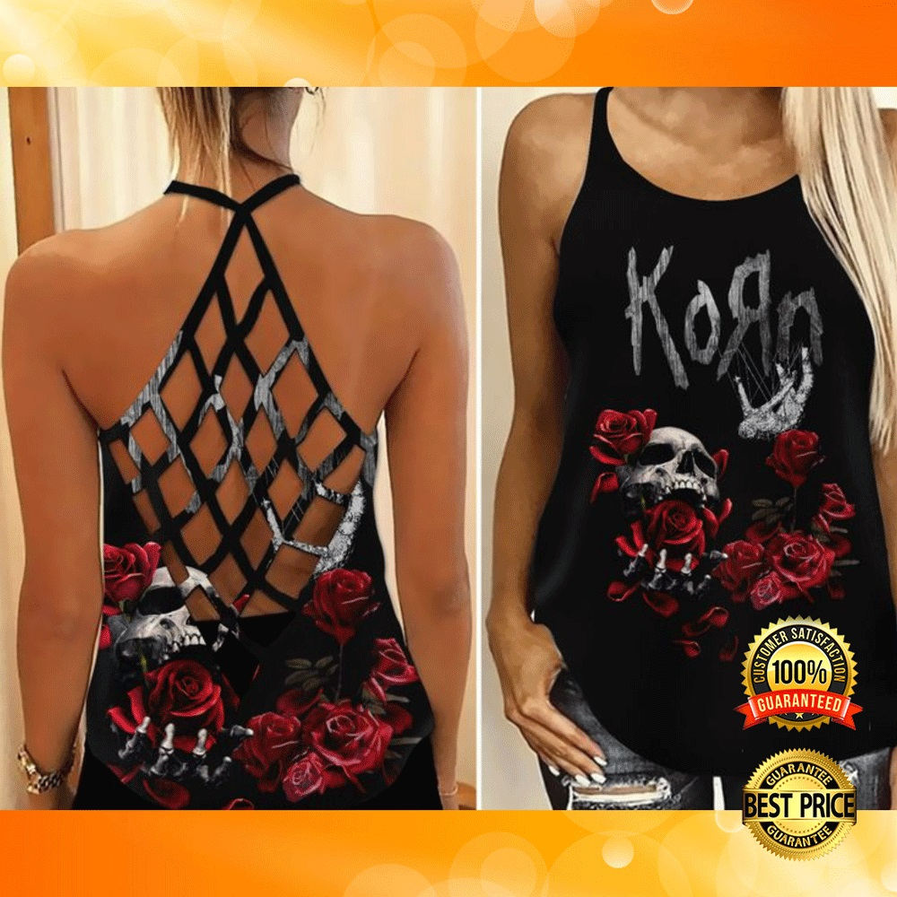 KORN CRISS-CROSS TANK TOP 6