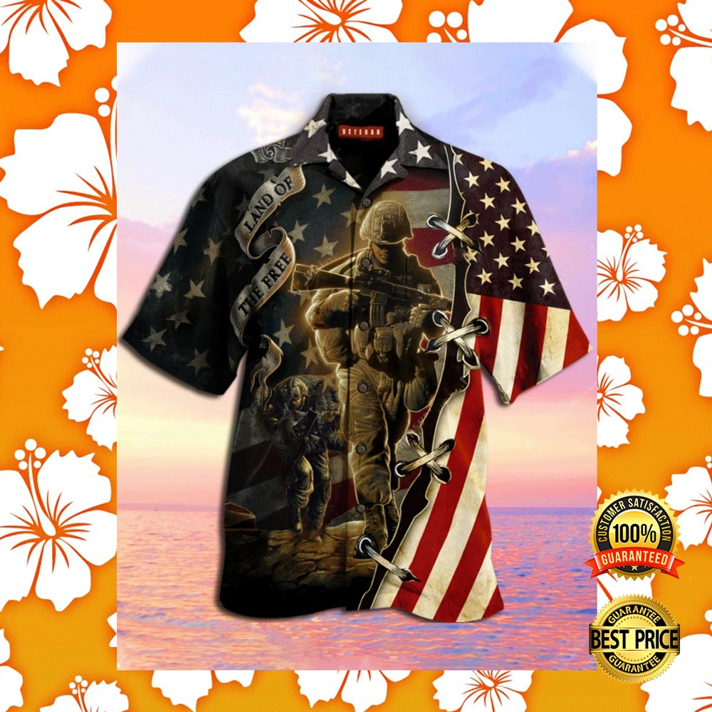AMERICA LAND OF THE FREE HAWAIIAN SHIRT 6