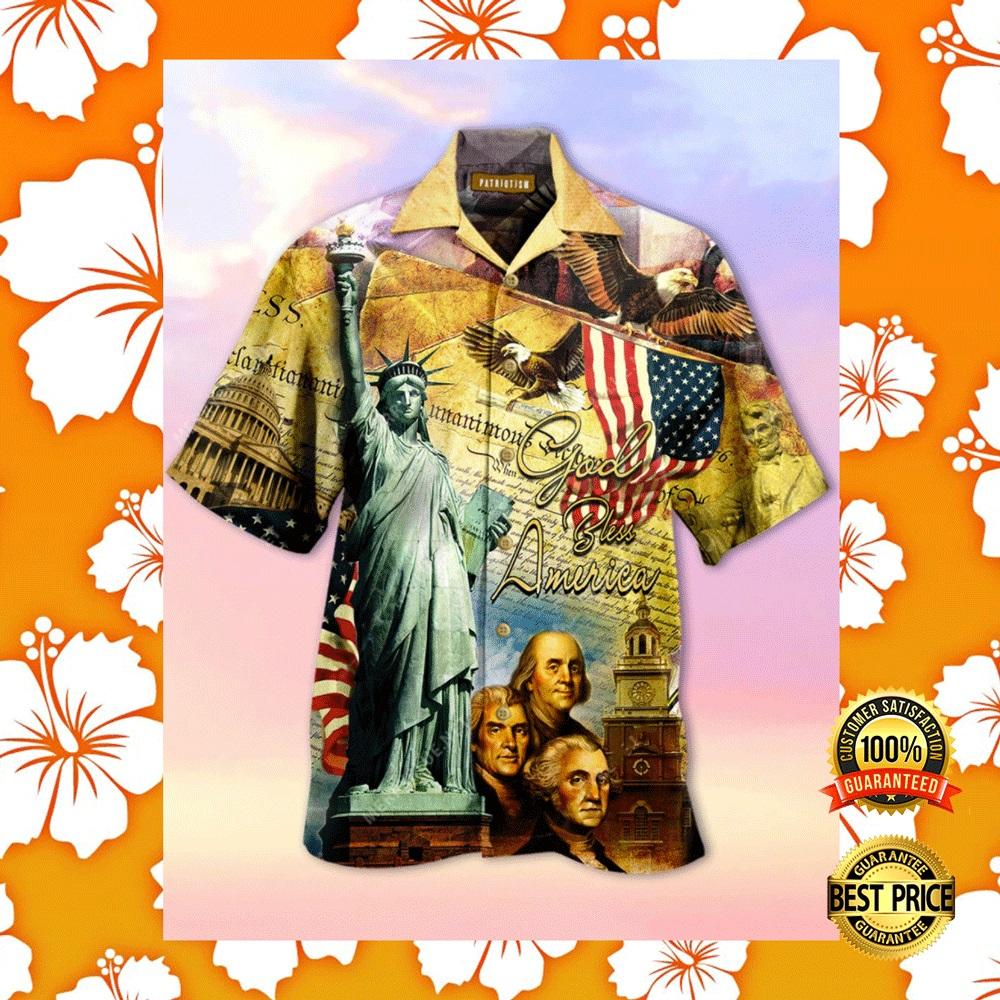 GOD BLESS AMERICA HAWAIIAN SHIRT 6