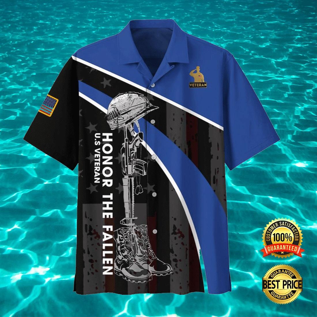 US VETERAN HONOR THE FALLEN HAWAIIAN SHIRT 7
