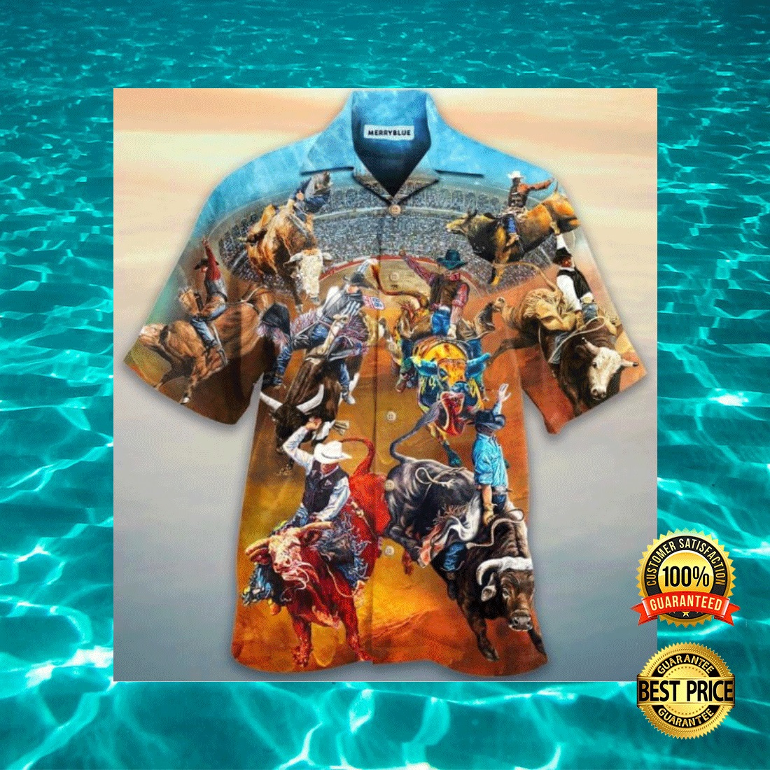 RODEO LIFE IS THE BEST LIFE HAWAIIAN SHIRT 6