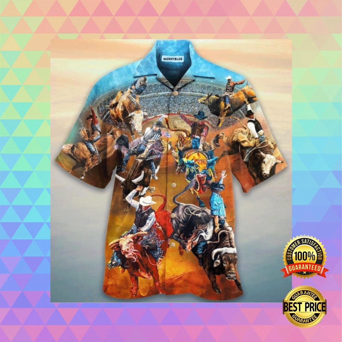 RODEO LIFE IS THE BEST LIFE HAWAIIAN SHIRT 5
