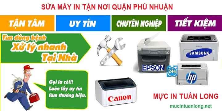 Địa chỉ sửa máy in giá rẻ Quận Phú Nhuận - Dịch vụ giá rẻ nhanh nhất