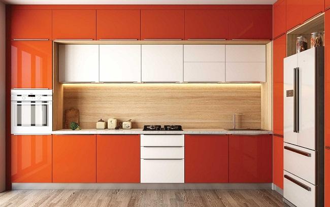 wall mounted kitchen